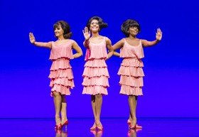Motown The Musical West End cast - The Supremes - credit Tristram Kenton