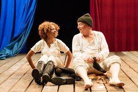 Ayesha Antoine and Paul Hunter as Napoleon