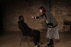 Michael Amaning and Jess Nesling in 'A Hundred Ways the Fire Starts