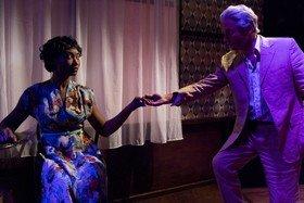Vanessa Donovan and Stephen Hogan in Mad as Hell, credit of Eddie Otchere.