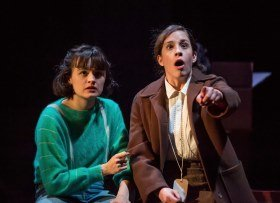 L-R Hannah Bristow & Leila Schaus - Kindertransport - Photo credit Mark Sepple