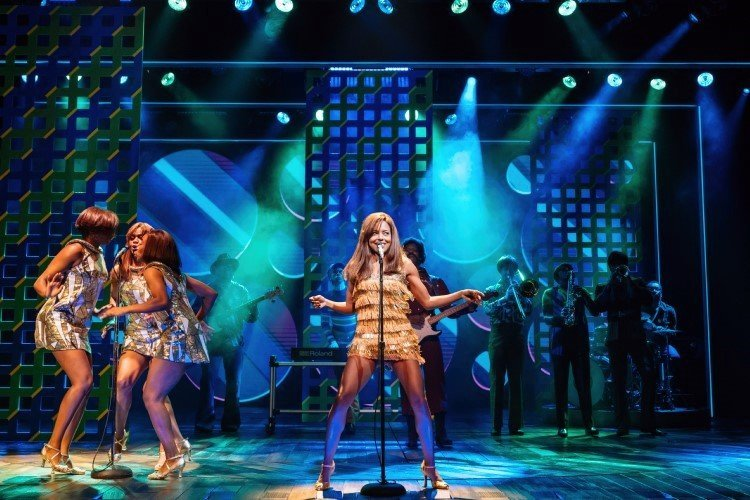 Adrienne Warren as Tina in Tina The Musical - Photos by Manuel Harlan