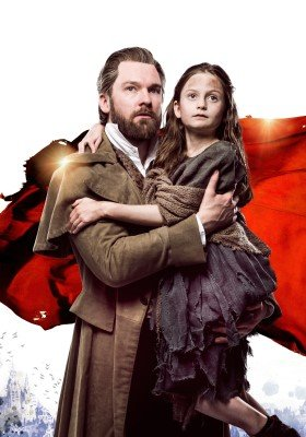 LES MISERABLES TOUR. Killian Donnelly 'Jean Valjean' and Cosette. Photo Matt Crockett