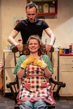 Reared, Theatre503 - courtesy of The Other Richard - Daniel Crossley and Shelley Atkinson