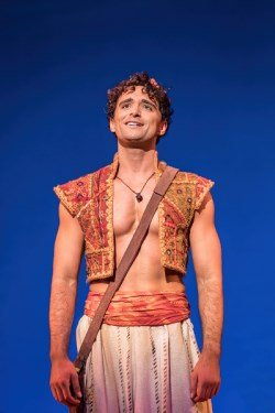 Aladdin Prince Edward Theatre: Matthew Croke Aladdin - Photographer Johan-Persson. © Disney