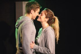 A Gym Thing - Jennifer Brooke and Tom Vallen -Pleasance Theatre (photo by Boris Mitkov Photography)