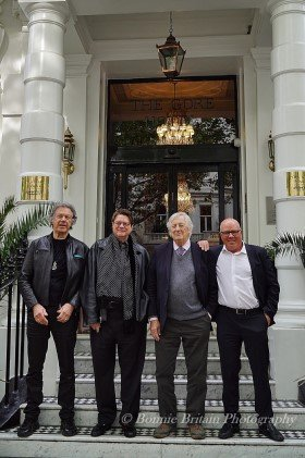 Stewart Young, Phil Carson, Dick Clement, Jeff Parry.