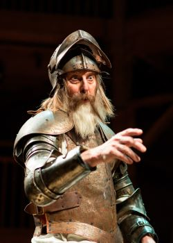 David Threlfall in Don Quixote from the Original 2016 production at the Swan Theatre - Photo by Helen Maybanks -RSC