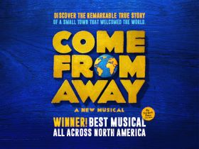 Image result for come from away musical images