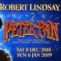 Robert Lindsay stars as Captain Hook in Peter Pan
