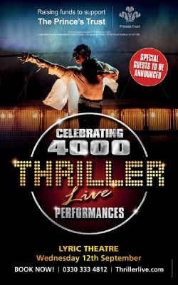 Thriller Live to celebrate a record-breaking 4,000 West End shows...
