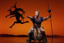 Mkhize Cortes (Rafiki) photo by Catherine Ashmore (c) Disney