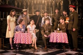 The Much Ado About Nothing company – Photo Scott Rylander