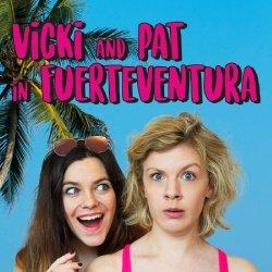 Vicki and Pat in Fuerteventura