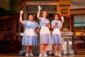 The original Broadway production of Waitress - Photographer Joan Marcus