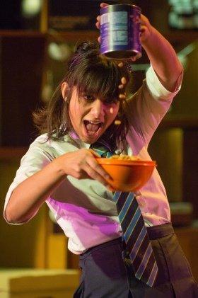 Safiyya Ingar plays Abi - Photo credit Mark Sepple
