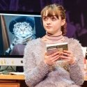 Maisie Williams (Caroline) in I and You at Hampstead Theatre. Photo credit Manuel Harlan
