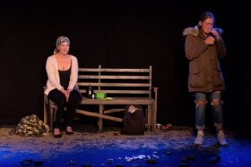 Flotsam: Ciara Pouncett as Anne & Jennifer Aries as Jo
