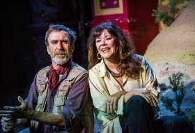 Joe McGann and Josie Lawrence in a scene from Love-Lies-Bleeding Credit Tristram Kenton