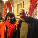 Diane Abbott and Gabriel Gbadamosi (writer), credit Ankesh Shah.