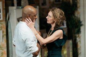 Oliver Alvin-Wilson and Hattie Ladbury in Nine Night (c) Helen Murray