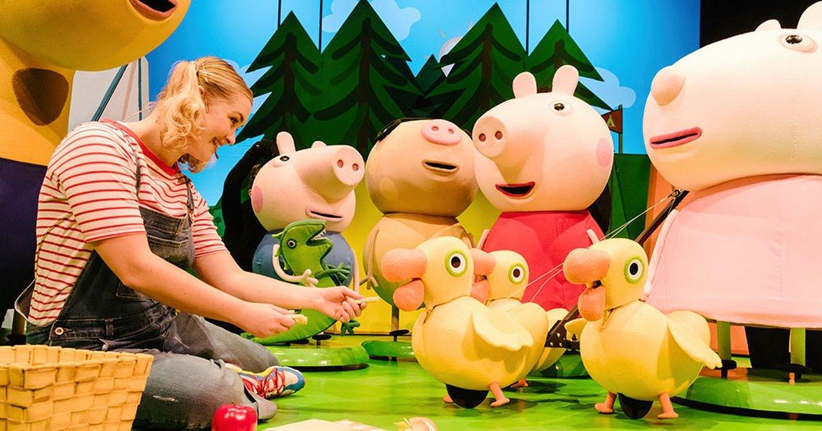 Peppa Pig S Adventure At Theatre Royal Haymarket Review