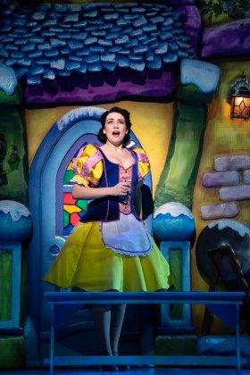 Snow White at The London Palladium - Danielle Hope as Snow White - Photo Paul Coltas.