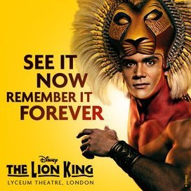 The Lion King Wednesday Matinee Tickets