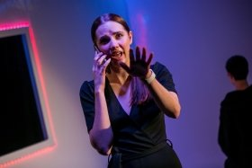 Anomaly, Old Red Lion Theatre (Courtesy of Headshot Toby) Natasha Cowley.