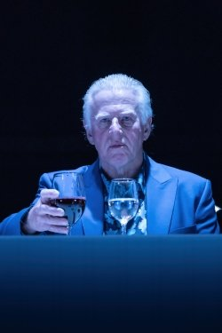 Phil Davis in Pinter Six. Photo credit Tracy-Ann Oberman.