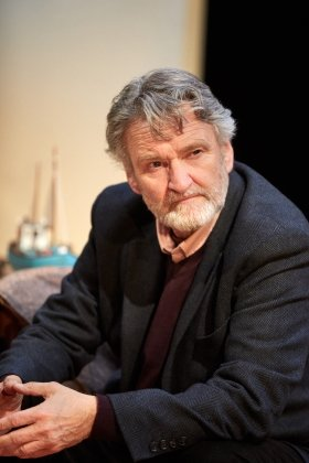 Neil McCaul in Rosenbaum's Rescue at Park Theatre. Photo by Mark Douet.