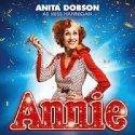 Anita Dobson in Annie Musical