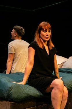 Cougar - Mike Noble and Charlotte Randle - Orange Tree Theatre - ETT - photo by The Other Richard.