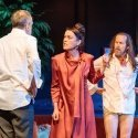 Kevin Doyle, Olivia Williams, Denis O'Hare in Tartuffe by Molière in a new version by John Donnelly. photo by Manuel Harlan.