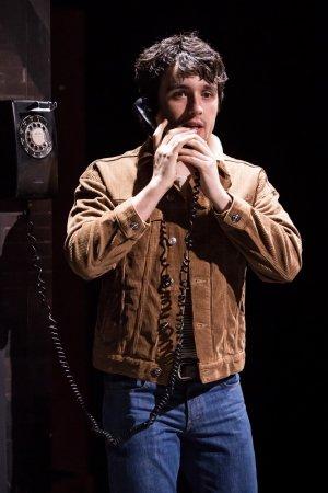 Dario Coates (Matthew) in THE RUBENSTEIN KISS. Credit Scott Rylander.