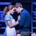 Waitress at the Adelphi Theatre: Katharine McPhee as Jenna and David Hunter as Dr-Pomatter.
