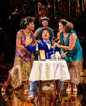 Carly Mercedes Dyer, Adrian Hansel, Landi Oshinowo & Renée Lamb - Ain't Misbehavin' - Photo by Pamela Raith.