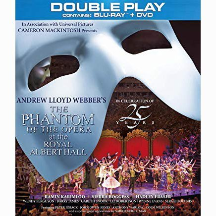 The Phantom of the Opera at the Royal Albert Hall - Double Play [Region Free]