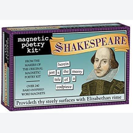 Magnetic Poetry Shakespeare Fridge Magnet Set - Fridge Poetry