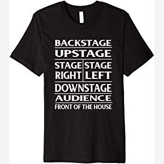 Stage Theatre Anatomy Funny T-Shirt