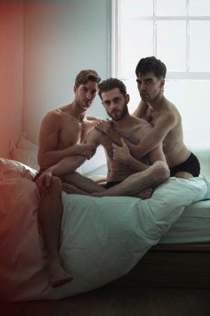 Afterglow - Danny Mahoney, Sean Hart and Jesse Fox Photo Darren Bell.