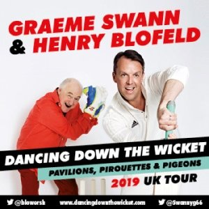 Graeme Swann and Henry Blofeld's Dancing Down The Wicket