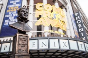 Come From Away receives four Olivier Awards including Best New Musical - Credit Craig Sugden.