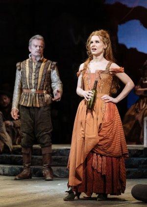 Kelsey Grammer, Cassidy Janson in Man of La Mancha by Manuel Harlan.