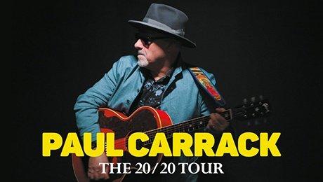 Paul Carrack - 2020 Tour at Aylesbury Waterside Theatre