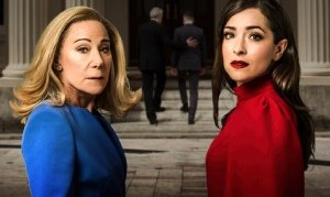 Zoë Wanamaker and Zrinka Cvitešić in Two Ladies at the Bridge Theatre