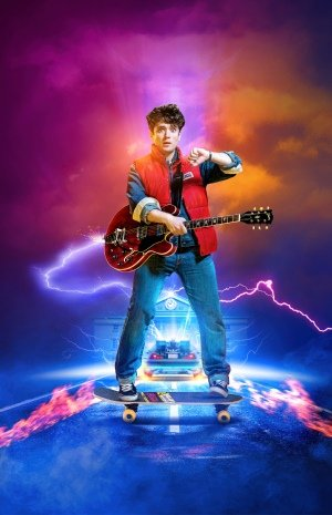 Olly Dobson as Marty McFly in Back to the Future The Musical.
