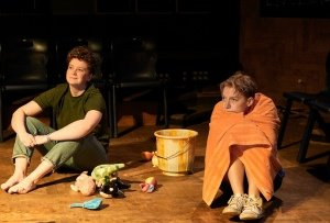 Zoe West and Tilda Wickham in OUT OF WATER by Zoe Cooper - Orange Tree Theatre - photo by The Other Richard