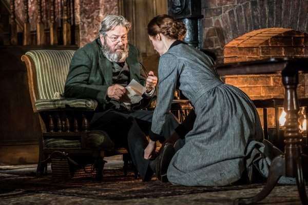 Roger Allam, Justine Mitchell in Rutherford and Son by Githa Sowerby.  Image by Johan Persson.