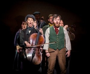 The Hired Man cast - Photo by Mark Sepple.